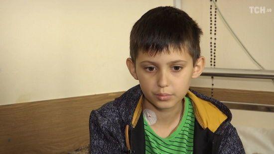 Глядачі ТСН в рекордні терміни зібрали для 11-річного Дениса Маголи 5 млн гривень