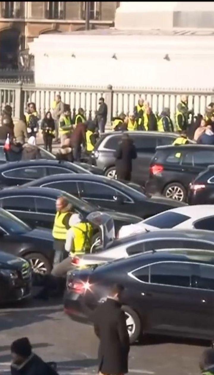 У Франції водії протестують через підвищення податків на пальне