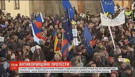 Тысячи людей в Праге требуют отставки премьер-министра и президента из-за коррупции в Чехии