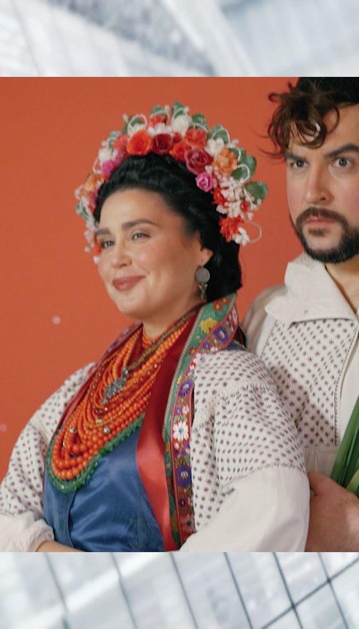 Людмила Барбір розповіла, як витримала зйомки із намистом у 5 кілограм