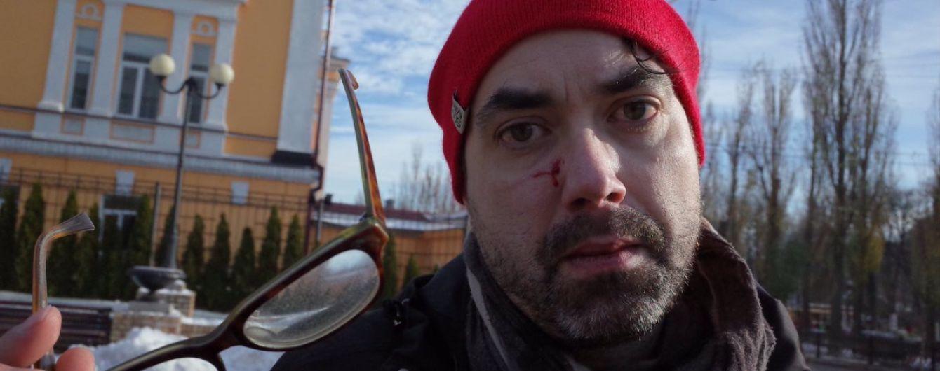 """На """"трансмарше"""" в Киеве радикалы избили иностранного журналиста"""