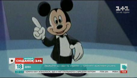 Микки Маус празднует 90-летний юбилей