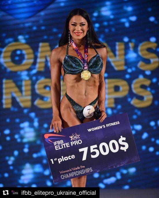 Українка перемогла на дебютному Чемпіонаті світу з фітнесу