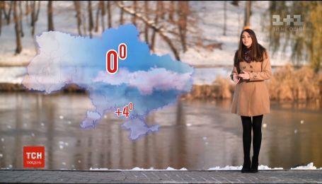 В Украину окончательно пришла зима