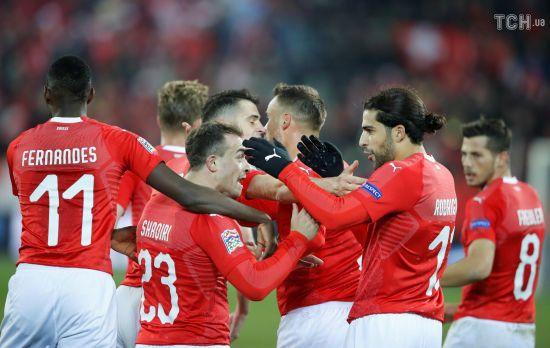 Ліга націй. Швейцарія створила божевільний камбек у матчі з Бельгією і вийшла до фінального раунду