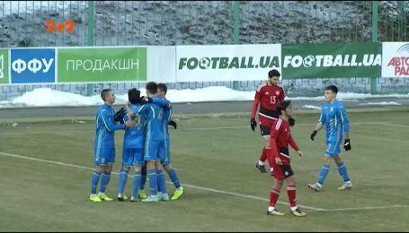 Молодежная сборная Украины сыграла вничью в товарищеском поединке с Грузией
