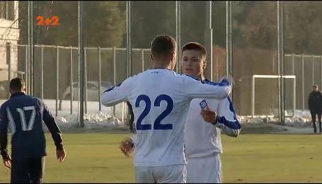 Как Динамо разгромило Олимпик в товарищеском спарринге со счетом 3:0