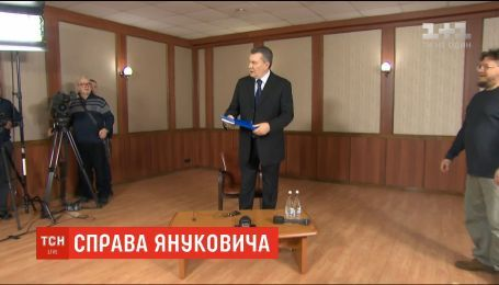 Янукович не выступит в Оболонском суде из-за травмы