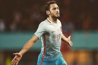 Ключовий футболіст збірної Туреччини пропустить зустріч з Україною