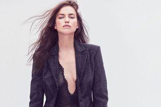 Це дуже сексуально: Ірина Шейк в боді, ботфортах і шкіряній куртці позувала для глянцю