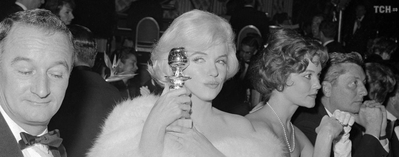 """Рекордная ставка: в США продали """"Золотой глобус"""" Мэрилин Монро за 250 тысяч долларов"""
