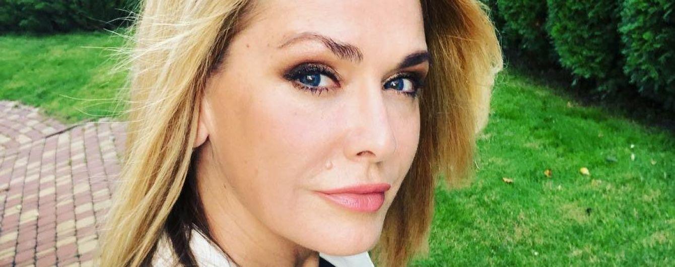 Еще ого-го: Ольга Сумская показала лицо без макияжа