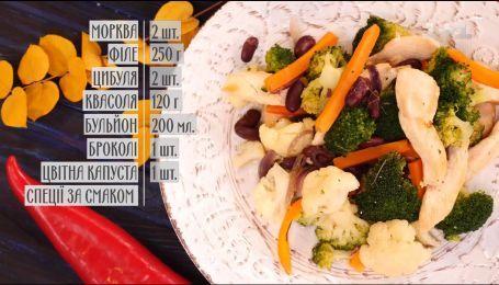 Соте с мясом и фасолью - рецепты Сеничкина
