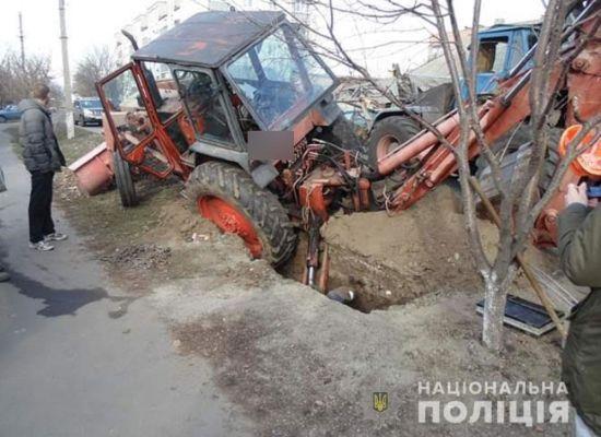 На Полтавщині трактор розчавив електромонтера