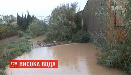 Мощные наводнения накрыли северо-восток Каталонии