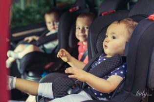 Правила перевезення дітей в автомобілі