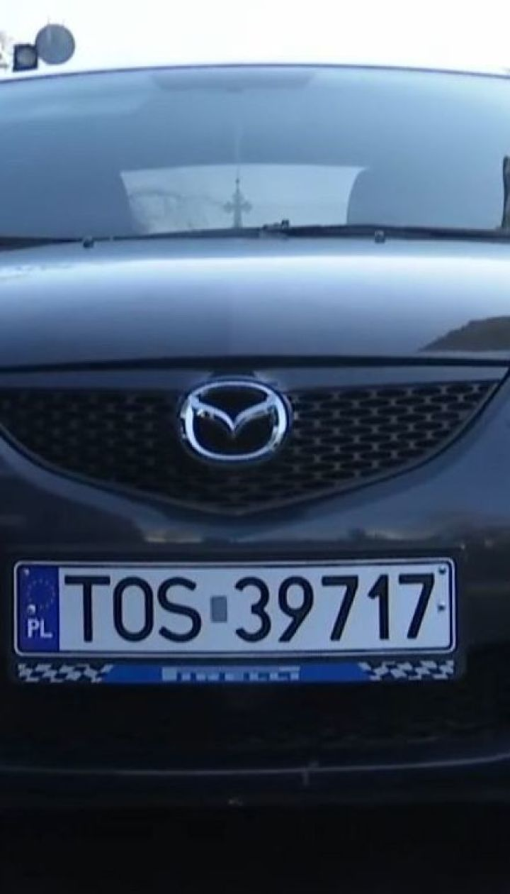 В Украине массово похищают машины на еврономерах