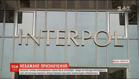 Украина может приостановить членство в Интерполе, если руководителем организации выберут кандидата с РФ