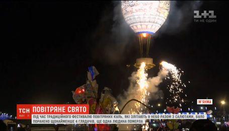 Десятки тысяч человек собрались в Мьянме на фестиваль воздушных шаров