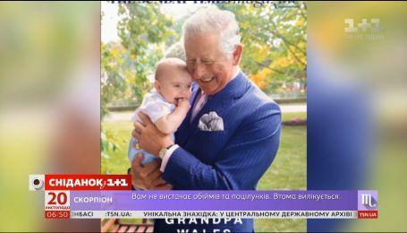 Принц Чарльз с маленьким Луи украсил обложку британского журнала