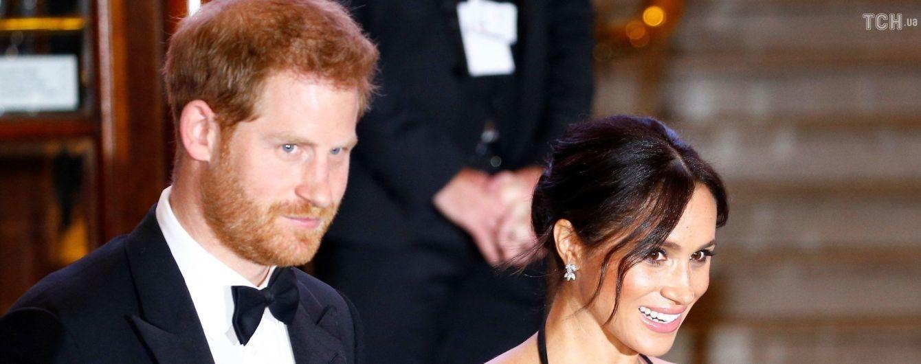 Беременная Меган в роскошном топе в пайетках впервые посмотрела легендарное британское шоу