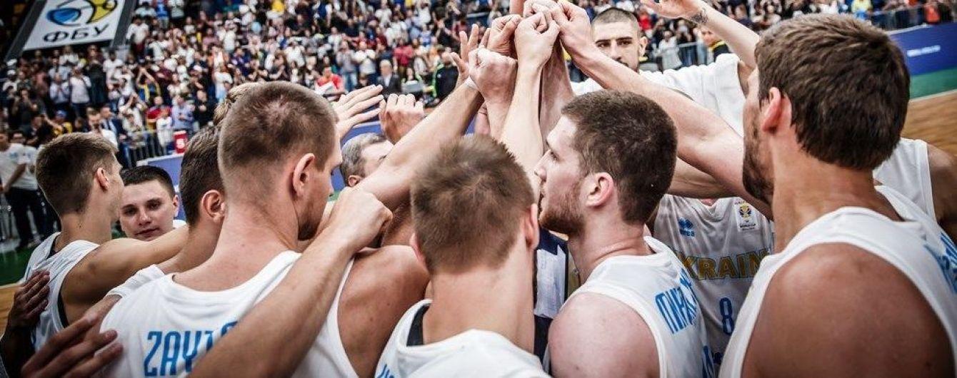 Сборная Украины по баскетболу объявила состав на ближайшие матчи отбора ЧМ-2019