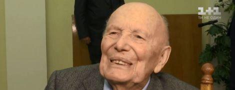 Перед неймовірним ювілеєм Борис Патон озвучив плани на 101-й рік життя