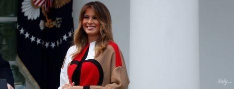 В пальті Dior та лубутенах: розкішний вихід Меланії Трамп