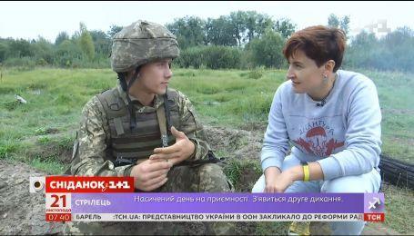 Наталья Нагорная взялась проверить, как оно - быть десантником