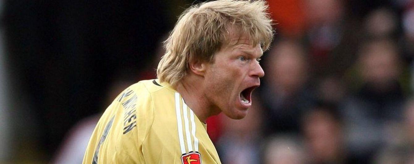 Немецкий вратарь футбол