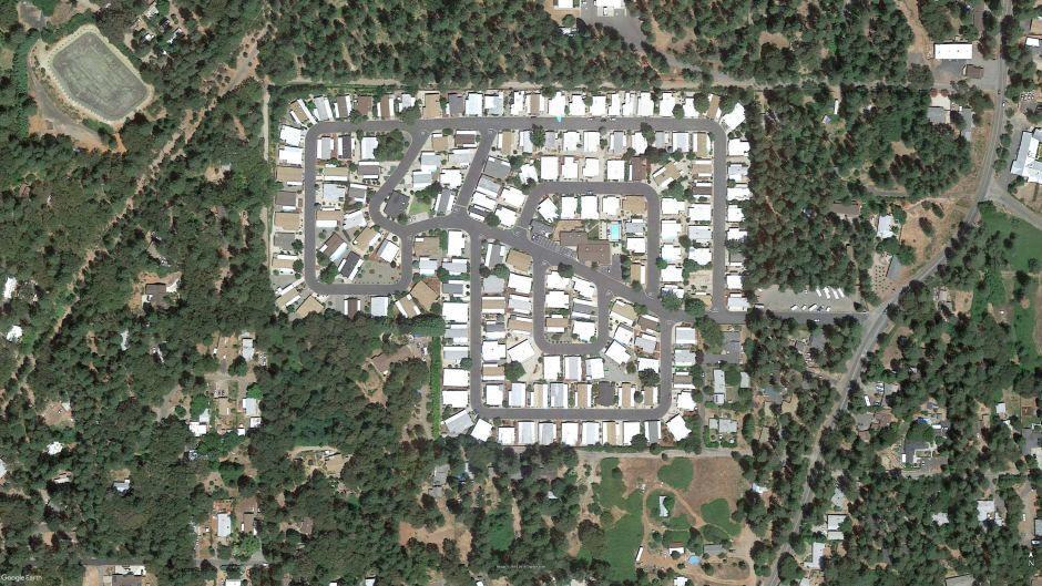 Пожар в Калифорнии до и після_1