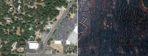 Як Рай став порожнім згарищем. Фото до та після найстрашнішої пожежі в історії Каліфорнії