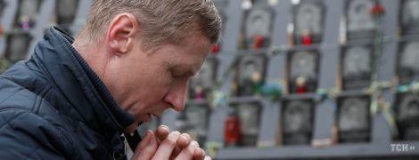 Молебен и слезы родных. В Киеве почтили память героев Небесной сотни