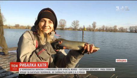Не жіноча справа: історія одеситки, яка понад 20 років ловить рибу і змагається на рівні з чоловіками