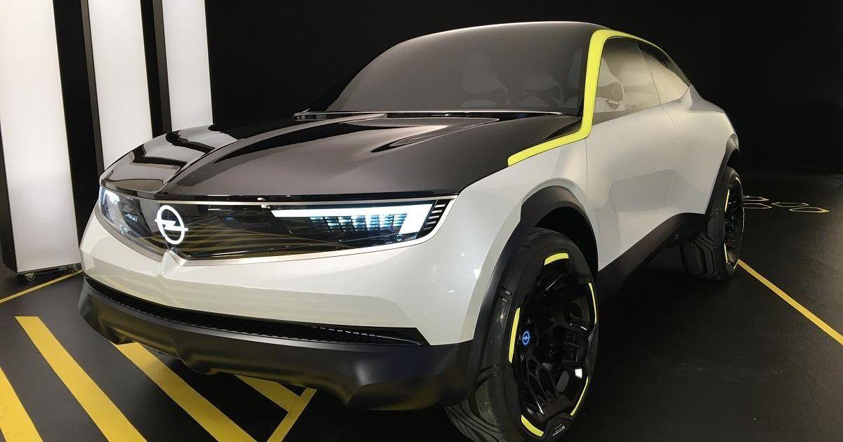Opel показал концепт кроссовера на электрике GT X