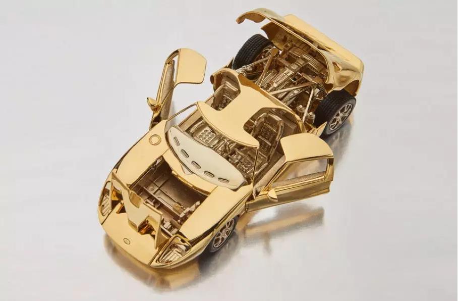 Ford GT з золота_3