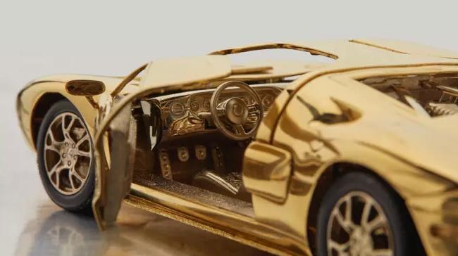 Ford GT з золота_2