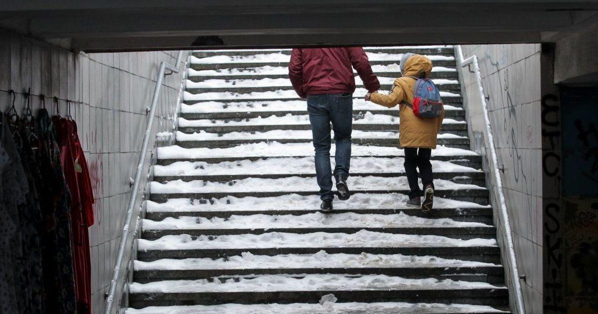 Синоптики обіцяють періодично сніг та слизькі дороги. Прогноз погоди на 23-27 листопада