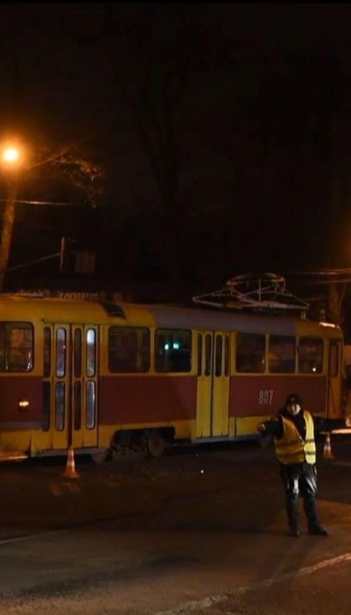 Водійку трамвая, яка спровокувала ДТП у Запоріжжі, відсторонили від роботи