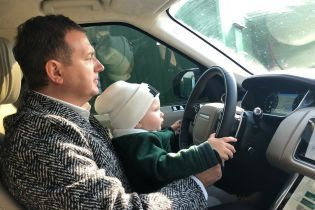 Це так мило: Катя Осадча та Юрій Горбунов показали знімки з сином