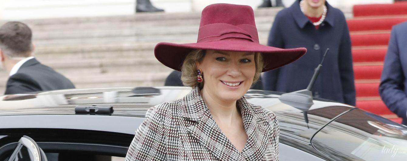 Затмила даже первую леди: королева Матильда удивила своим новым элегантным образом