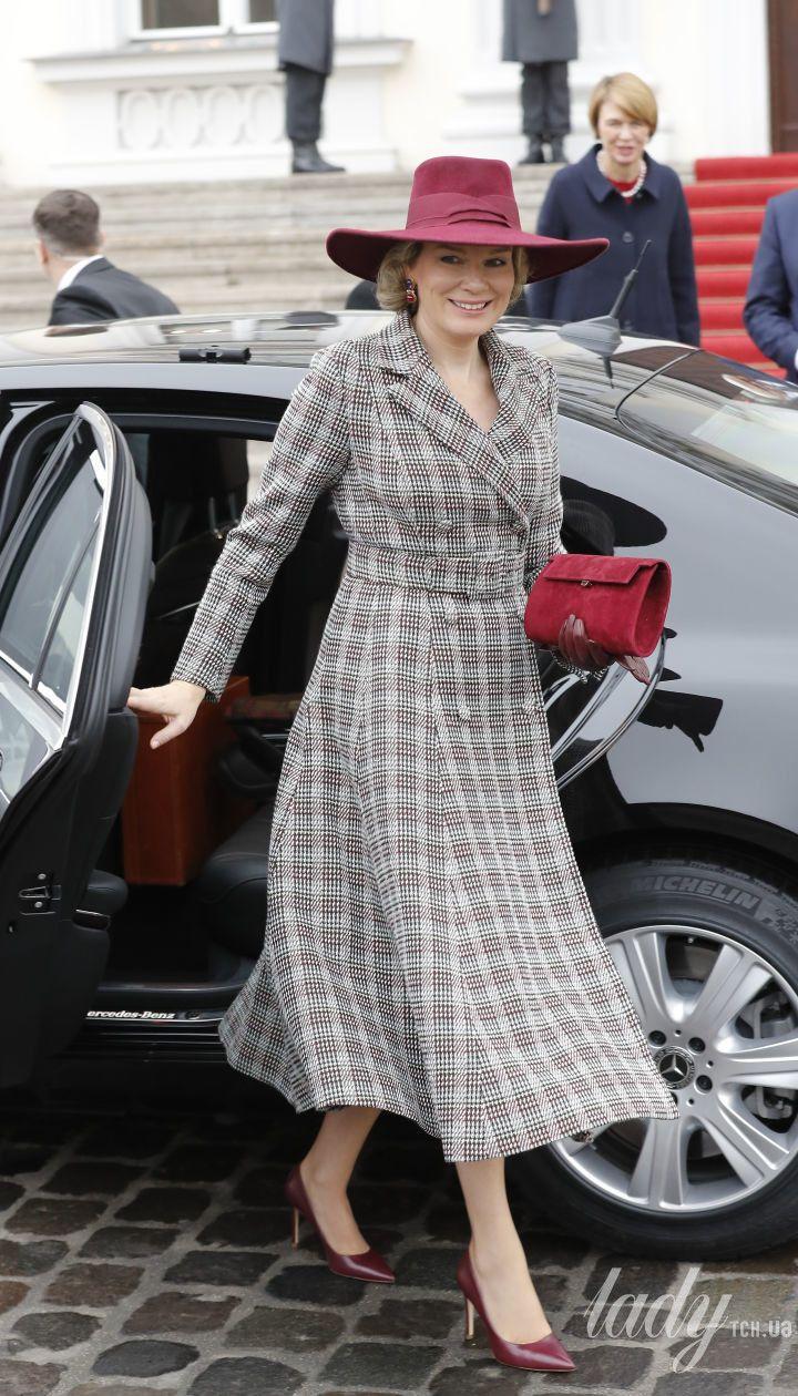 Королева Матильда и король Филипп прибыли с визитом в Германию