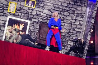 "Финал ""Лиги Смеха"": супермен Полякова и бэтмен Яма будут бороться со злом, а Кухар станцует под Skibidi"