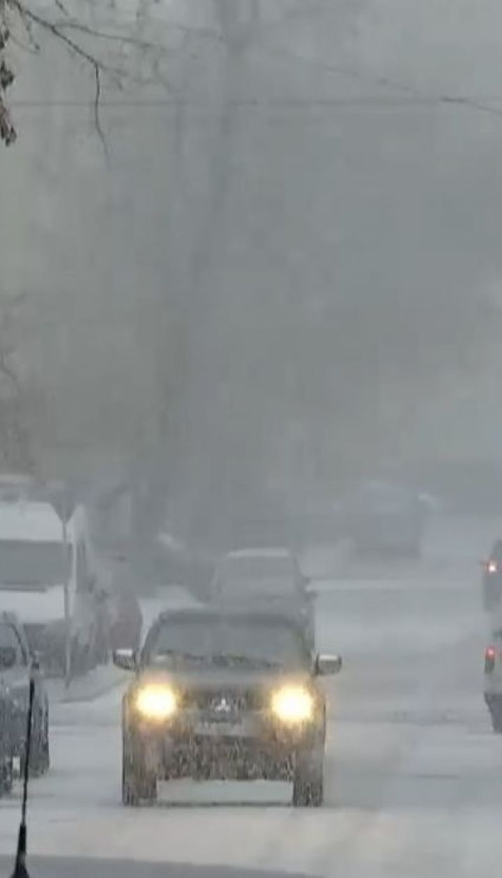 Резкое изменение погоды. На территорию Украины надвигается мощный циклон