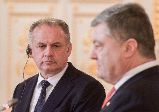 """""""Це політичний проект"""": президент Словаччини солідаризувався з Порошенком в оцінці """"Північного потоку-2"""""""