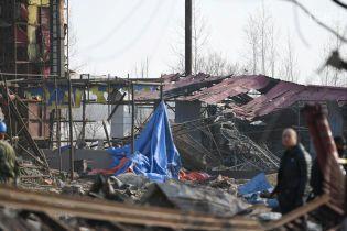 У Китаї на заводі стався потужний вибух: двоє загиблих і десятки поранених