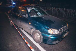 У Києві легковик збив пішохода