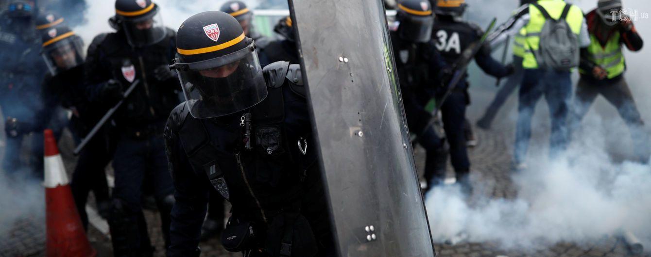 У Парижі затримали майже три сотні осіб перед новою хвилею протестів