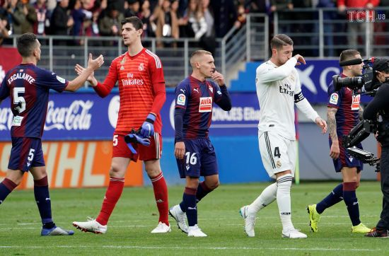"""""""Реал"""" зазнав ганебної поразки у грі з """"Ейбаром"""""""