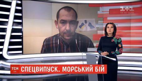 Реакція російських ЗМІ на військову ескалацію на Азові